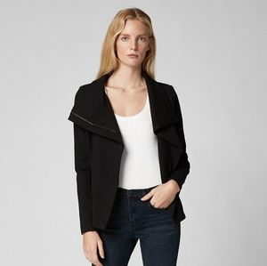 Blank NYC Caviar black moto jacket
